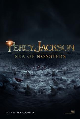 плакат фильма тизер Перси Джексон и море чудовищ