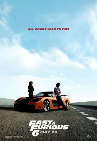 плакат фильма характер-постер Форсаж 6
