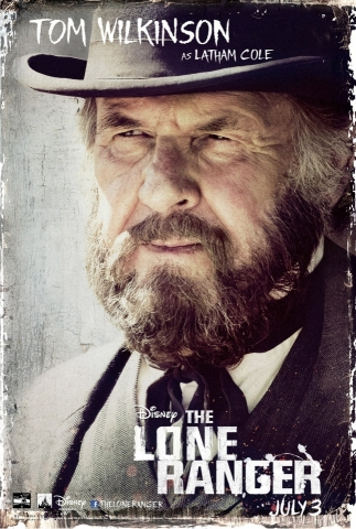 плакат фильма характер-постер Одинокий рейнджер