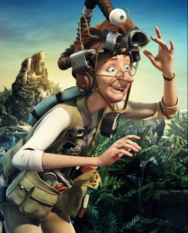 плакат фильма характер-постер textless Эпик