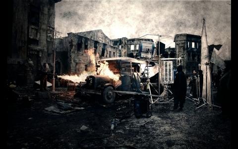 со съемок Сталинград