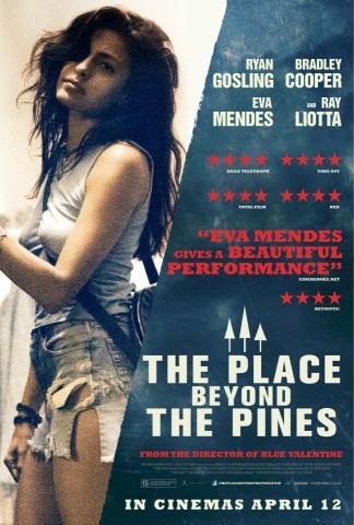 плакат фильма характер-постер Место под соснами