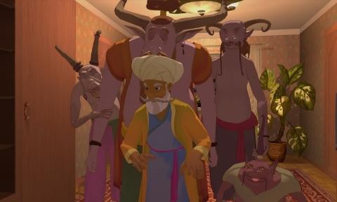 кадр №159906 из фильма Печать царя Соломона