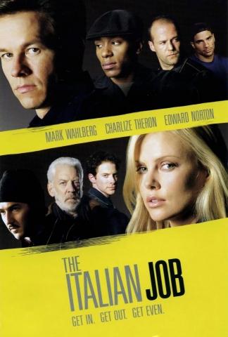 плакат фильма постер Ограбление по-итальянски