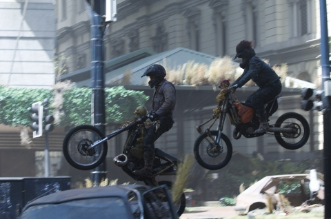кадры из фильма Судный день