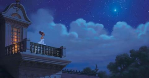 кадры из фильма Принцесса и лягушка