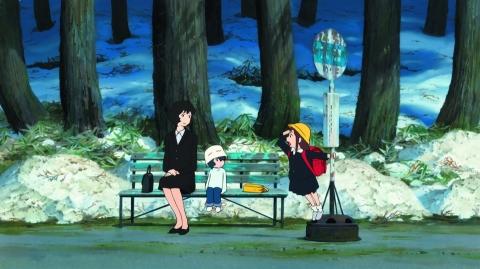 кадр №166132 из фильма Волчьи дети Амэ и Юки