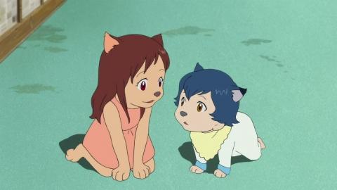 кадр №166134 из фильма Волчьи дети Амэ и Юки