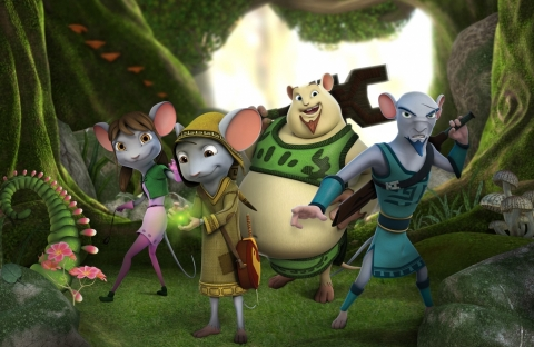 кадр №170067 из фильма Приключения мышонка