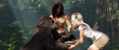 кадр №170625 из фильма Тарзан