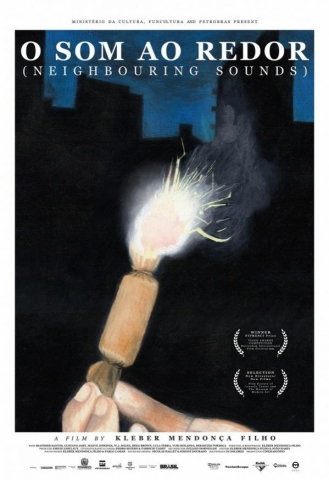 плакат фильма постер Звук вокруг*