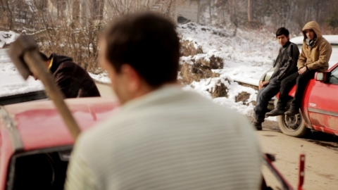 кадр №174745 из фильма Случай из жизни сборщика железа*