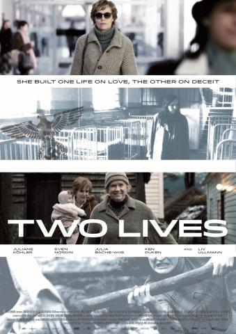 плакат фильма постер Две жизни*