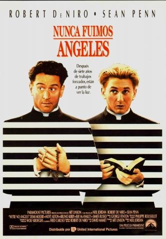 плакат фильма постер Мы не ангелы