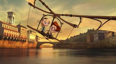 кадр №175256 из фильма Приключения мистера Пибоди и Шермана