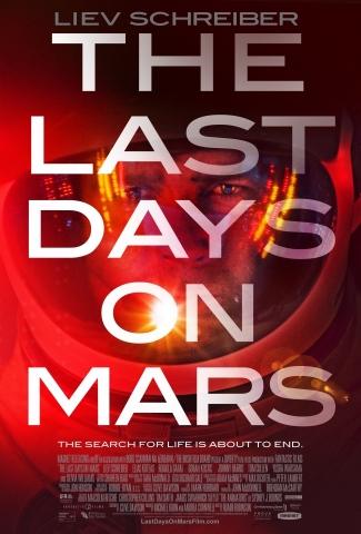 плакат фильма постер Последние дни на Марсе*