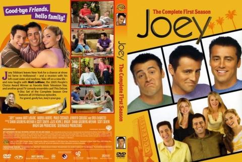 плакат фильма DVD Джоуи