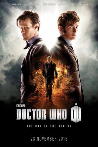 плакат фильма постер Доктор Кто: День Доктора