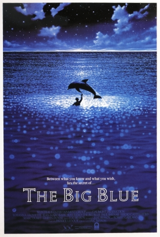 плакат фильма постер Голубая бездна