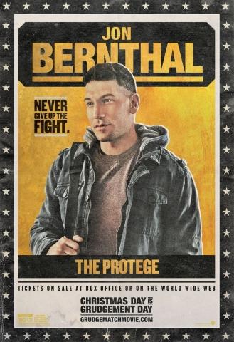плакат фильма характер-постер Забойный реванш