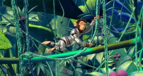 кадр №17658 из фильма Мартышки в космосе