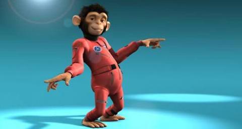 кадр №17659 из фильма Мартышки в космосе