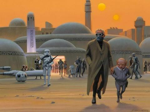 кадр №176799 из фильма Звездные войны: Эпизод IV — Новая надежда
