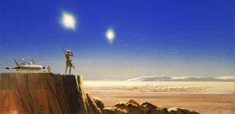 кадр №176804 из фильма Звездные войны: Эпизод IV — Новая надежда