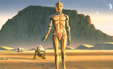 кадр №176806 из фильма Звездные войны: Эпизод IV — Новая надежда