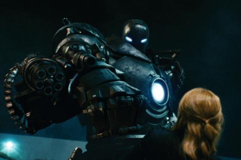 кадры из фильма Железный человек Гвинет Пэлтроу,
