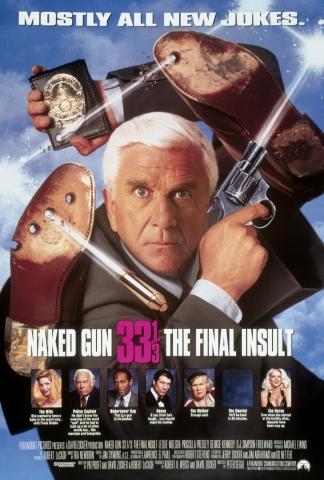 плакат фильма постер Голый пистолет 33 1/3: Последний выпад