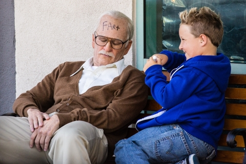 кадр №177554 из фильма Несносный дед