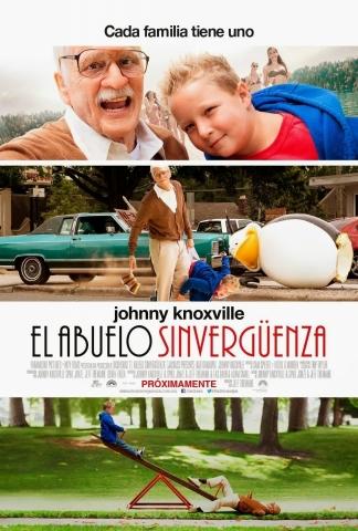 плакат фильма постер Несносный дед
