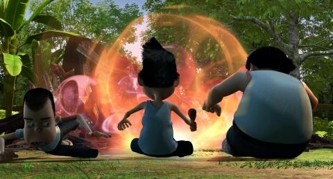 кадр №177577 из фильма Роботы 3D