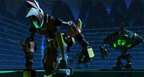 кадр №177587 из фильма Роботы 3D