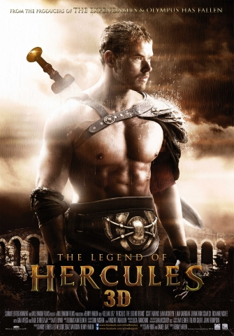 плакат фильма постер Геракл: Начало легенды 3D