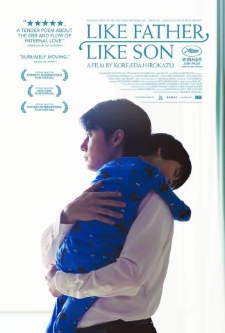 плакат фильма постер Сын в отца
