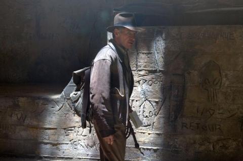 кадры из фильма Индиана Джонс и Королевство Хрустального Черепа Харрисон Форд,