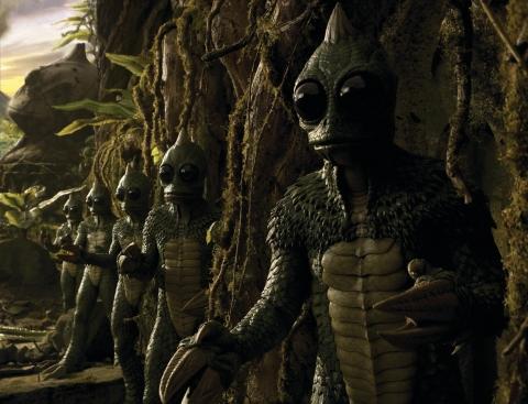 кадры из фильма Затерянный мир