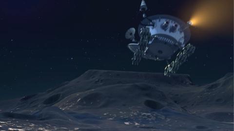 кадр №180920 из фильма Белка и Стрелка: Лунные приключения