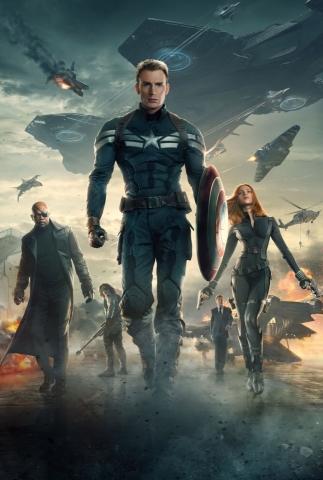 плакат фильма постер textless Первый Мститель: Другая война