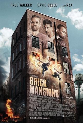 плакат фильма постер 13-й район: Кирпичные особняки