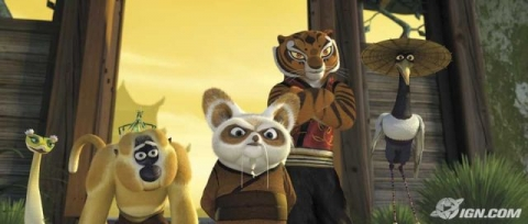 кадр №18342 из фильма Кунг-фу панда