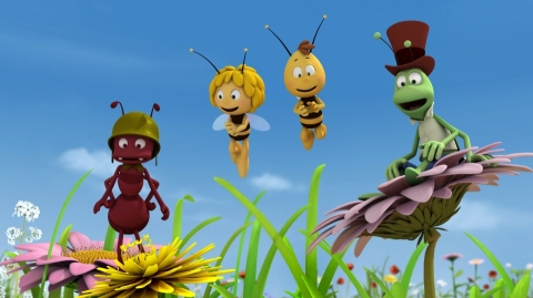 кадр №184775 из фильма Пчелка Майя