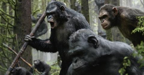 кадр №185710 из фильма Планета обезьян: Революция
