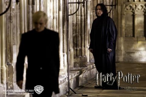 кадры из фильма Гарри Поттер и Принц-полукровка Том Фелтон, Алан Рикман,