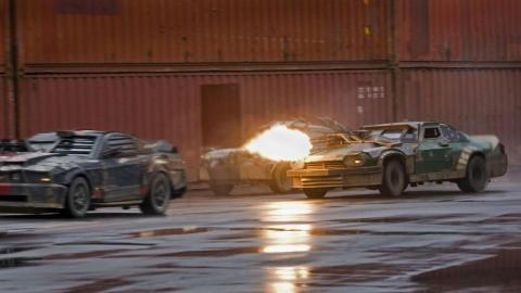 кадры из фильма Смертельная гонка