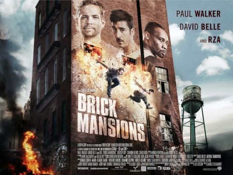 плакат фильма биллборды 13-й район: Кирпичные особняки