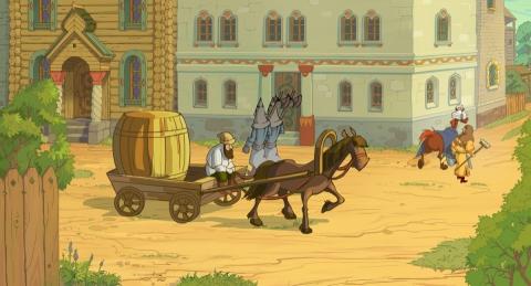 кадр №187538 из фильма Три богатыря. Ход конем