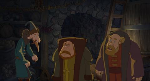 кадр №187539 из фильма Три богатыря. Ход конем